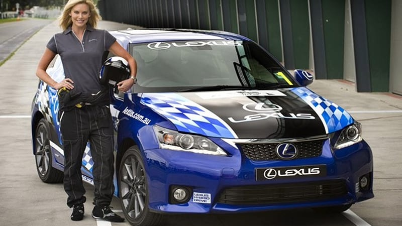 celebs to support australian grand prix in lexus ct 200h race autoblog. Black Bedroom Furniture Sets. Home Design Ideas