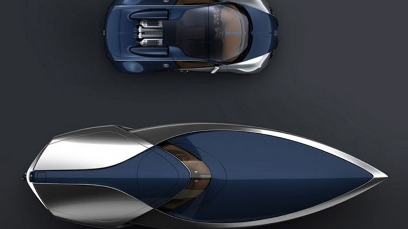 bugatti veyron sang bleu speedboat concept by ben walsh autoblog. Black Bedroom Furniture Sets. Home Design Ideas
