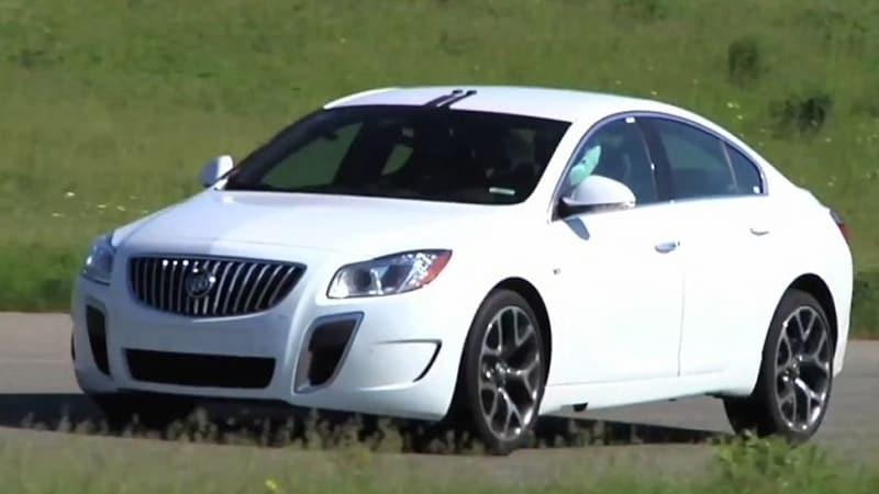 2012 Buick Regal Gs Hits Track With 270 Hp 15 More Than