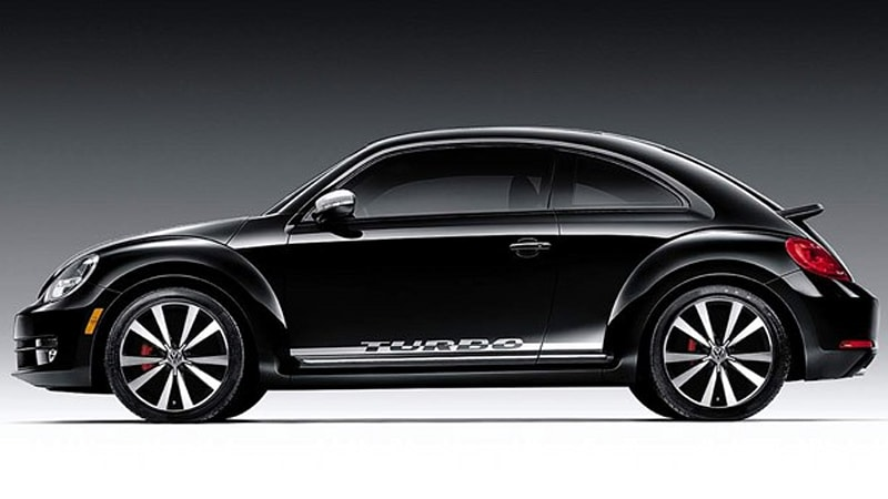 Volkswagen Rolls Out New Beetle With Black Turbo Launch