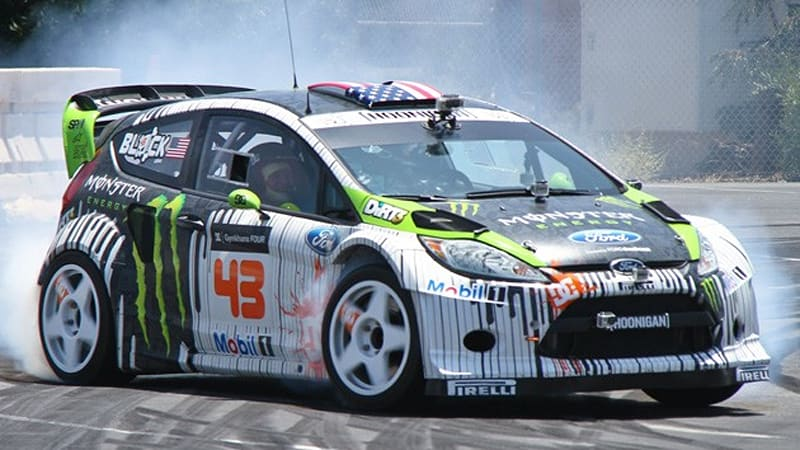 ken block unveils new multi hoonable ford fiesta hfhv autoblog. Cars Review. Best American Auto & Cars Review