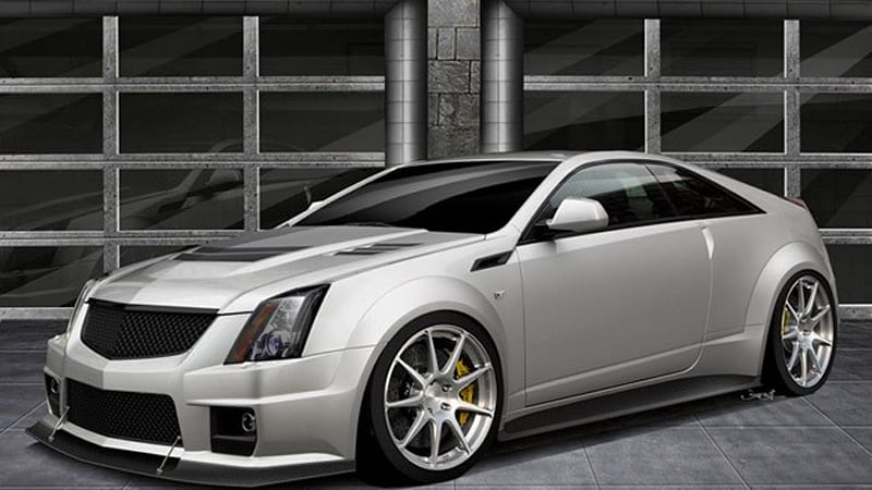 ... previews limited edition 1,000-horsepower CTS-V Coupe - Autoblog