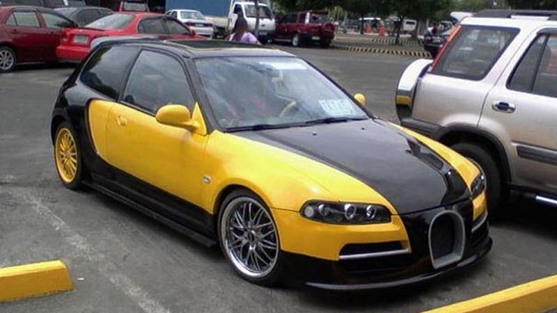 Certified Pre Owned Honda >> '92 Honda Civic thinks its a Veyron, makes us chuckle - Autoblog