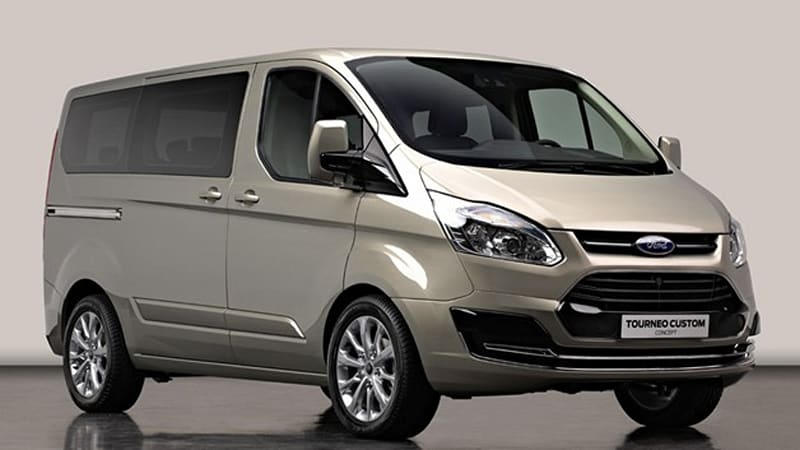 Ford Tourneo Custom Concept previews new European people mover - Autoblog