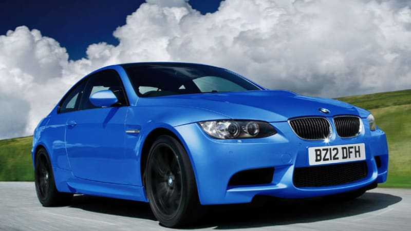 bmw giving brits the m3 limited edition 500 autoblog. Black Bedroom Furniture Sets. Home Design Ideas