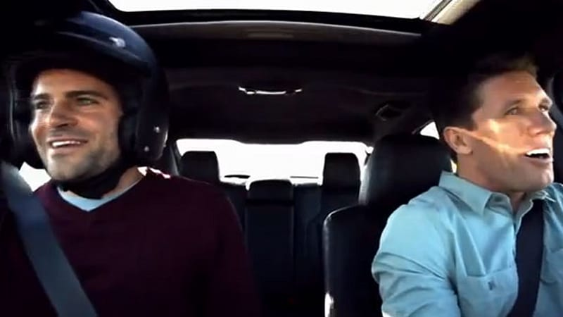 Ford straps engineers in 2013 Taurus SHO with Carl Edwards, hilarity ensues