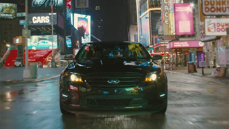 Ford Taurus SHO to feature in <i>Men In Black 3</i>