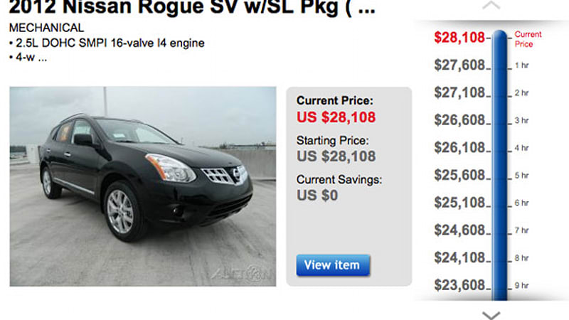 Ebay Motors Dropping Prices Hourly On Certain Cars Until