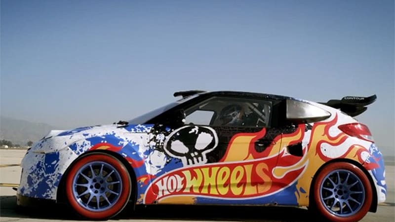 the hot wheels