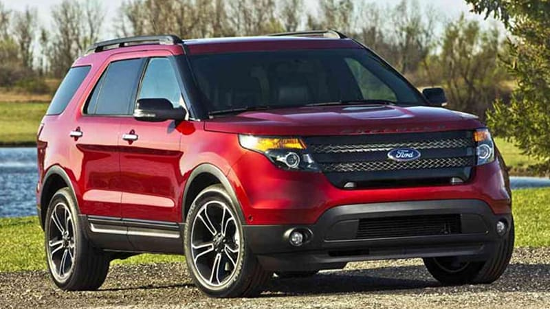 2013 Ford Explorer Sport officially rated at 365 HP 16 22