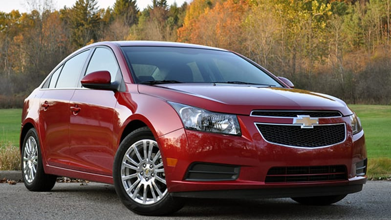 Gm Recalls Select Chevy Cruze Sonic And Buick Verano