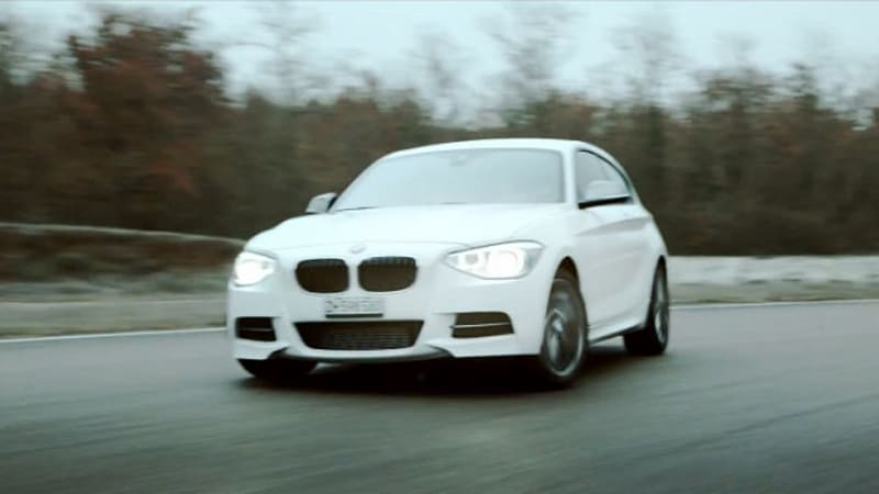 BMW M135i bids for world's fastest Christmas song