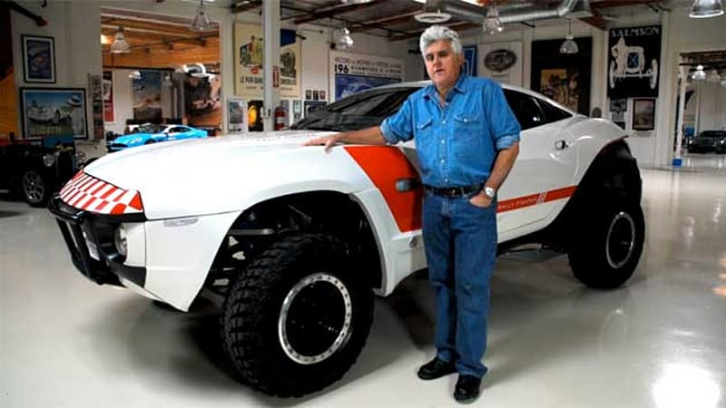 Local motors rally fighter crowds into jay leno 39 s garage for Local motors rally fighter for sale