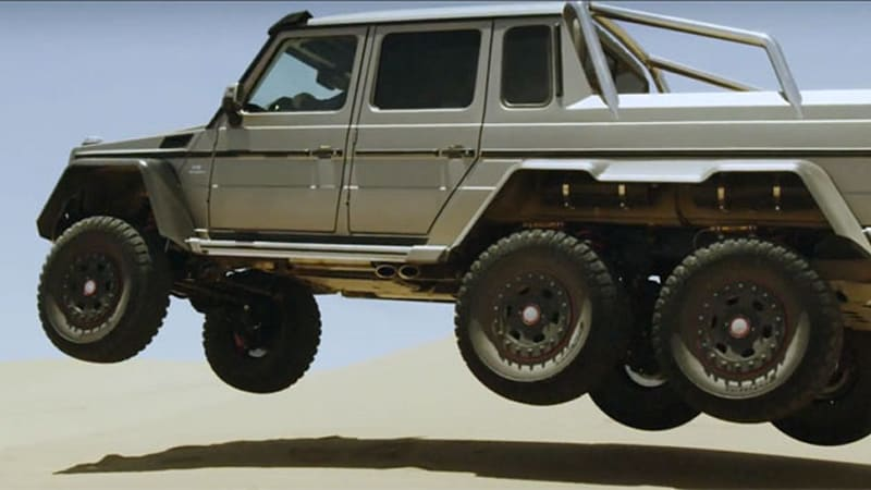 How Could A Lifted Mercedes Benz G63 Amg Be More Awesome
