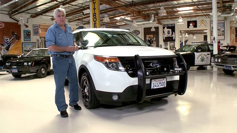 Jay Leno Sees How The Other Half Lives With Chp Cop Cars