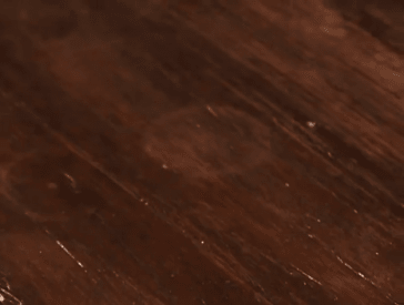 how to fix water stains on wood table