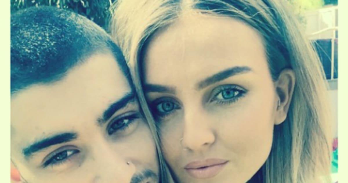 Perrie Edwards Zayn Malik Selfie Zayn Malik And Perrie Edwards'