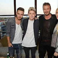 Liam Payne and Niall Horan at David Beckham Event