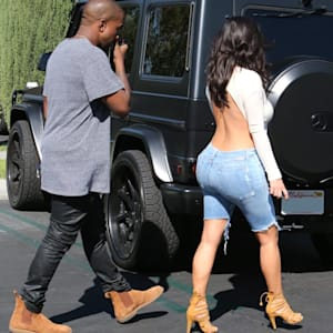 fashion, kanye west, kim kardashian, north west