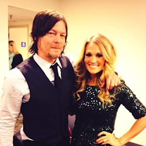 carrie underwood, the walking dead