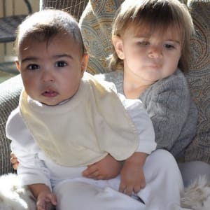 cambio style, kim kardashian, kourtney kardashian, north west