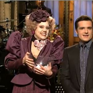 hunger games, hunger games catching fire, josh hutcherson, snl