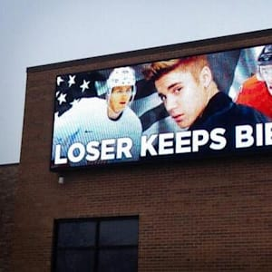 justin bieber, olympics