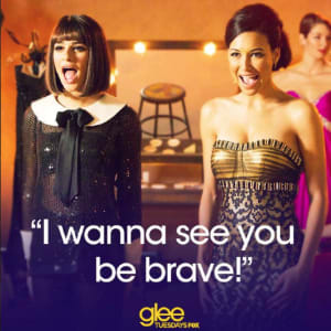 Lea Michele and Naya Rivera Fighting on 'Glee' Set?