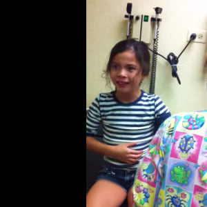flu shots, kids, viral video