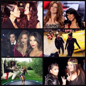 kendall jenner, khloe kardashian, kim kardashian, kris jenner