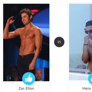 face off, harry styles, Zac Efron