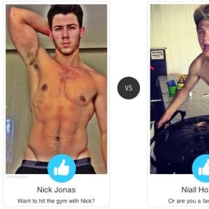 face off, niall horan, Nick Jonas