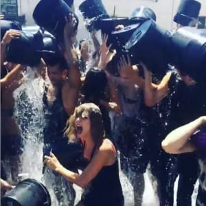 als, ice bucket challenge, selena gomez, taylor swift