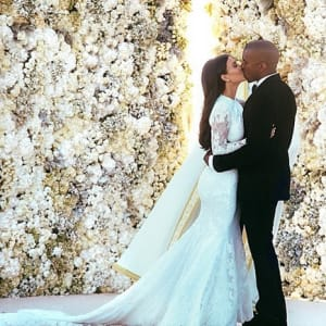 No One Cares About the KimYe Wedding? Tell That to These 2 Million People