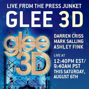 ashley fink, darren criss, glee, live chat, mark salling