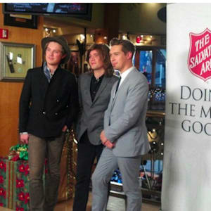 cody simpson, greyson chance, hanson, honor society, red kettle