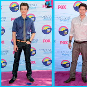 cambio fashion face off, chris colfer, glee, jackson rathbone, twilight