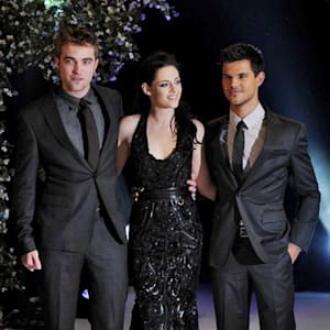 breaking dawn, Daniel Radcliffe, Emma Watson, Harry Potter, Kristen Stewart, Robert Pattinson, Taylor Lautner