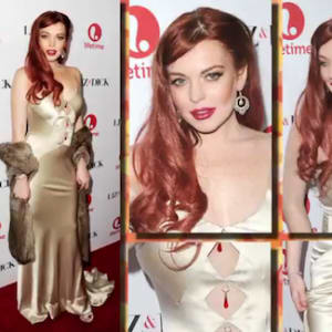 kate mara, leighton meester, lindsay lohan, red carpet rewind, shay mitchell, shaymitchell