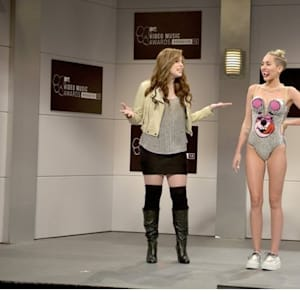 miley cyrus, mtv video music awards, saturday night live