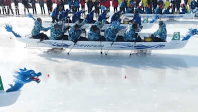 Ice Dragon Boating Arrives In Canada