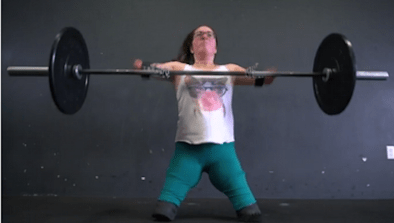CrossFit Athlete Was Born Without Limbs