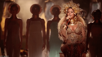 Pregnant Beyoncé Slays Grammys Performance