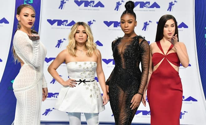 Fifth Harmony Couldn't Resist A Little Camila Cabello Shade At The VMAs