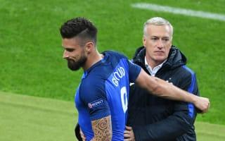 Efficient Giroud still a favourite for France boss Deschamps