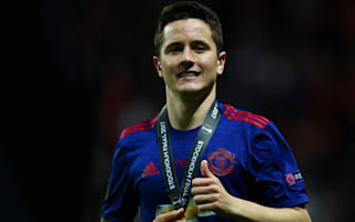 Herrera dedicates Europa League trophy to Manchester victims