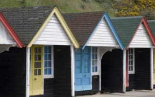 Beach hut in Dorset for sale with £200,000 price tag