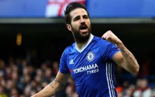 Chelsea's Fabregas '100 per cent' staying at Stamford Bridge