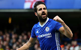 Chelsea's Fabregas '100 per cent' staying at Stamford Bridge