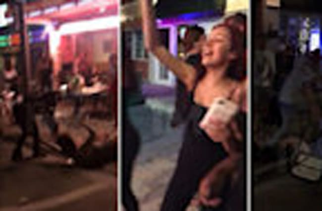 'CASH ME OUSSIDE' GIRL -- ANOTHER DAY ... ANOTHER FIGHT...This Time Ousside a Bar!
